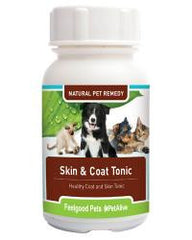 Skin & Coat Tonic: Supports dog & cat skin health & shiny coat!