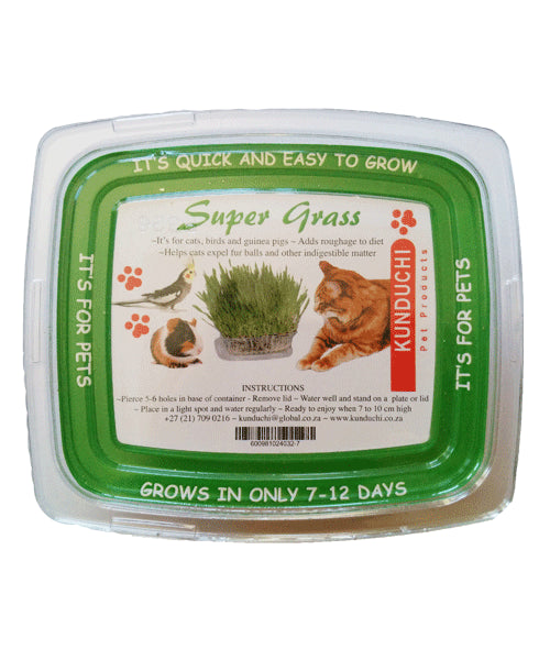 Self-Grow Kunduchi Supergrass: For birds, dogs, cats, small mammals, etc