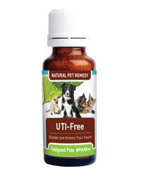 UTI-Free - natural treatment for UTI/Bladder infections in dogs & cats