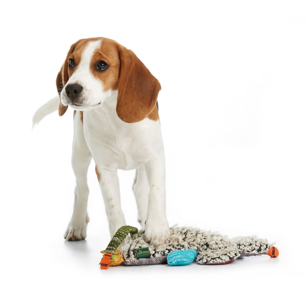 Hunter Patchwork Brady Plush Dog Chew Toy (Large)