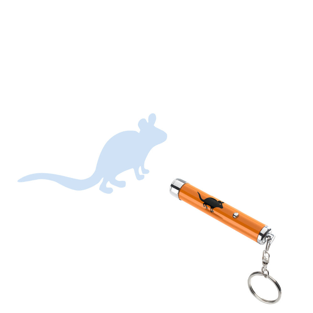 Cat Toy Interactive LED Pointer with Mouse Silhouette