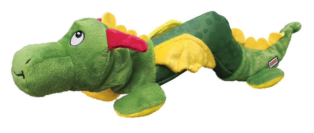 Hunter Tough Washable Large Dog Companion Shaker Toy Kong Dragon