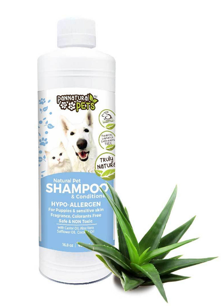 Natura Pets Hypo-Allergen Natural Shampoo & Conditioner for dogs, cats, puppies & kittens