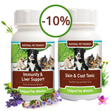 Savings Combo! Immunity & Liver Support Plus Skin & Coat Tonic (SAVE 10%!)