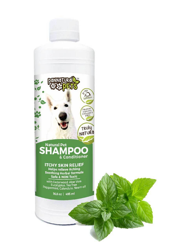 Natura Pet Natural Itch Relief Shampoo and Conditioner for Dogs with Itchy Skin