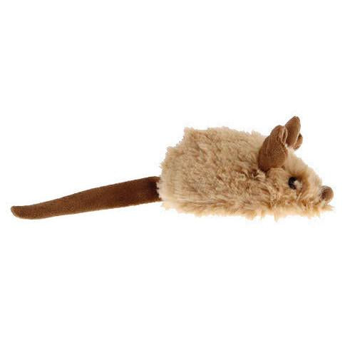 Motion activated cat toy mouse