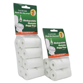 Eco-Friendly Disposable Poop Bags: Convenient, flush-able & biodegradable