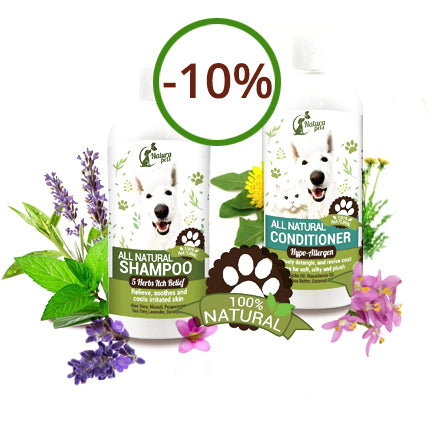 Super Savings! Save 10% on our Itchy Dog Shampoo & Conditioner Combo!