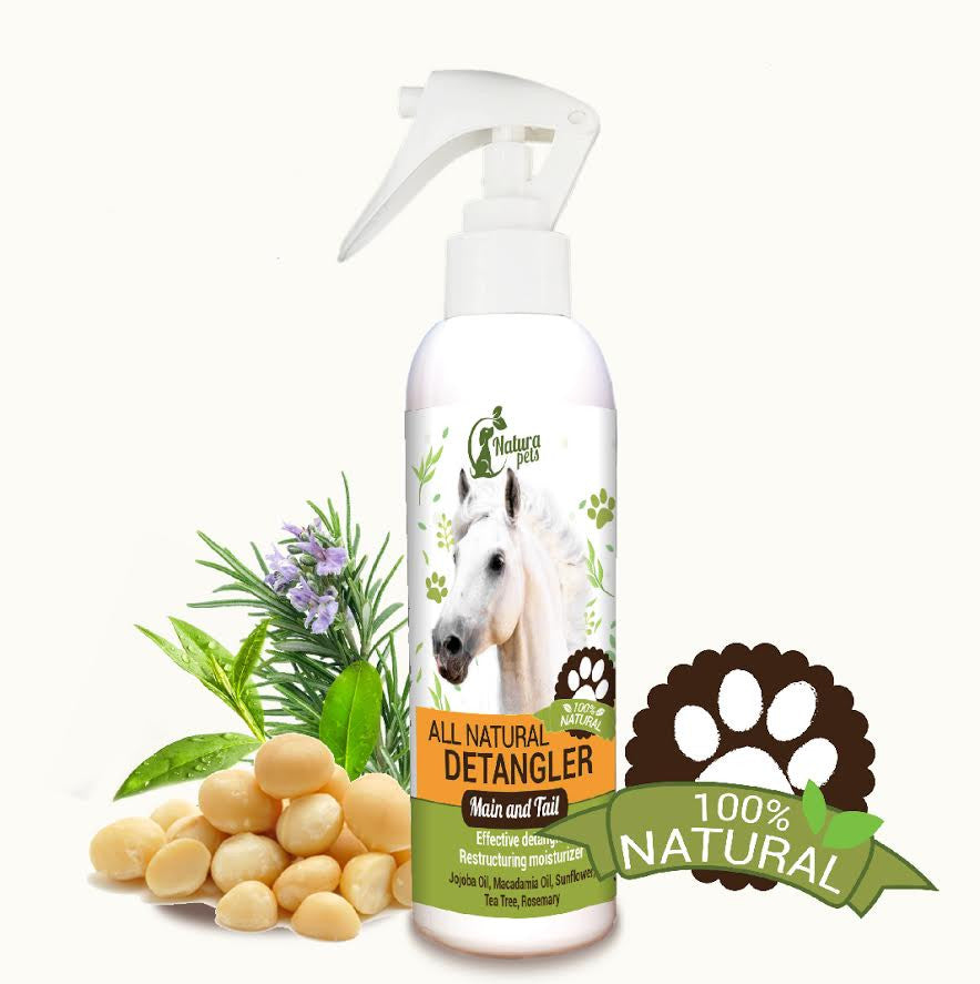 Natura Pet Natural Detangler Horse Spray Mane & Tail