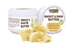 Natura Pets All Natural Eco Friendly Snout & Paw Butter for Dogs