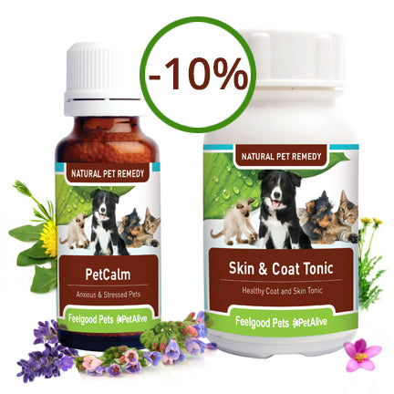 Savings Combo! Skin & Coat Tonic Plus PetCalm (SAVE 10%!)