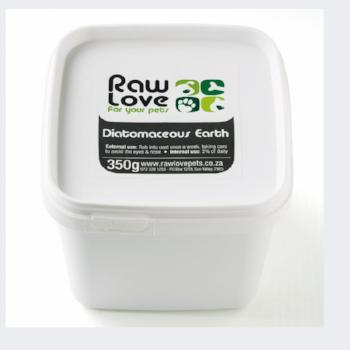 Raw Love Diatomaceous Earth for Dogs Cats