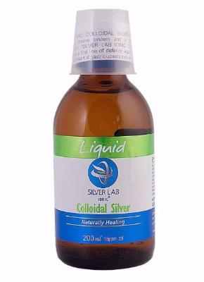 Silverlab Colloidal Silver Liquid (200ml) - For pet skin, coat and systemic health!