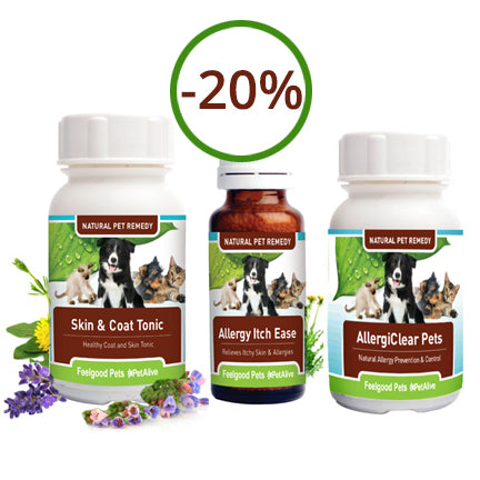 Savings Combo! Skin & Coat Tonic, AllergiClear Plus Allergy Itch Ease (SAVE 20%!)