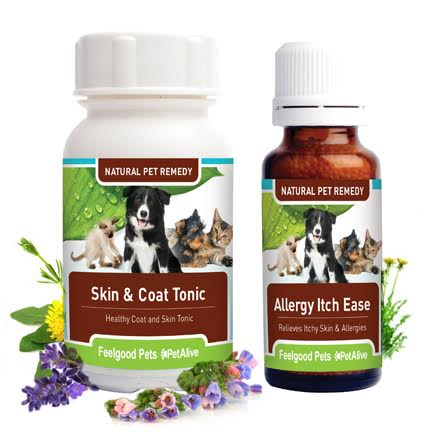 Super Savings Combo! Skin & Coat Tonic Plus Allergy Itch Ease (SAVE 10%!)
