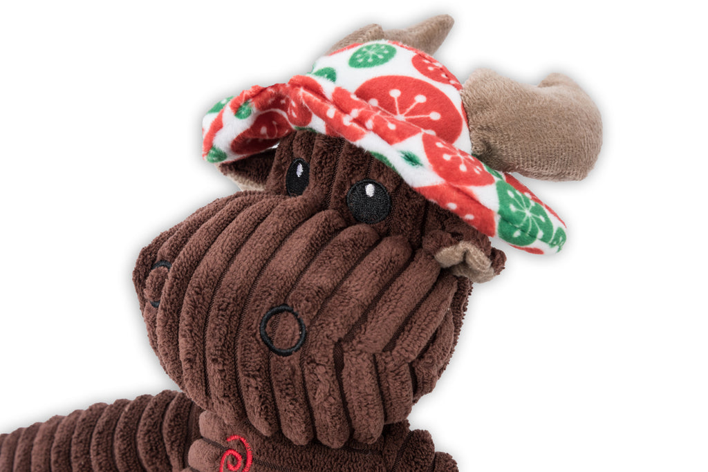 Dog Days Reindeer With Hat Toy