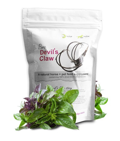 Natural Dried Devil's Claw Powder pet supplements arthritis joints