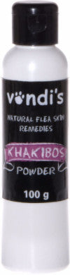 Vondi's Khakibos Tick and Flea Powder for cats & dogs