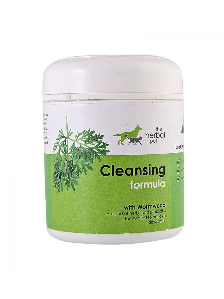 Deworming & Parasite Cleansing Supplement for Pets | The Herbal Pet