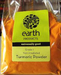 Earth Products Non-irradiated Turmeric Powder