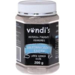 Vondi's Diatomaceous Earth: Worms, digestive & joint health