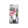 Hey Casey! Floral Unicorn Phone case covers for iPhone, Samsung, Huawei