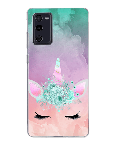 Hey Casey! Candy Floss Unicorn Phone case covers for iPhone, Samsung, Huawei