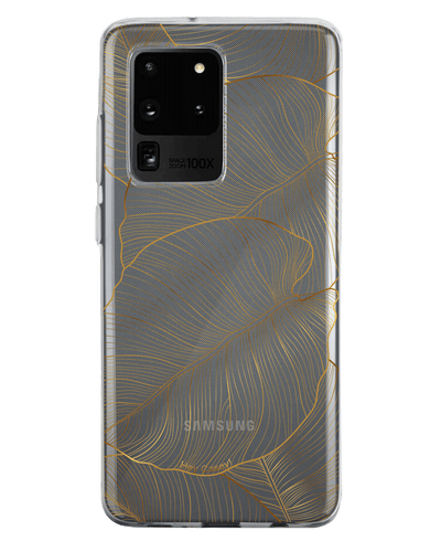 Hey Casey! Gold Leaf Phone Case for iPhone Samsung Huawei