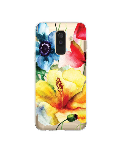 Hey Casey! Watercolour Flower Phone case covers for iPhone, Samsung, LG, Huawei