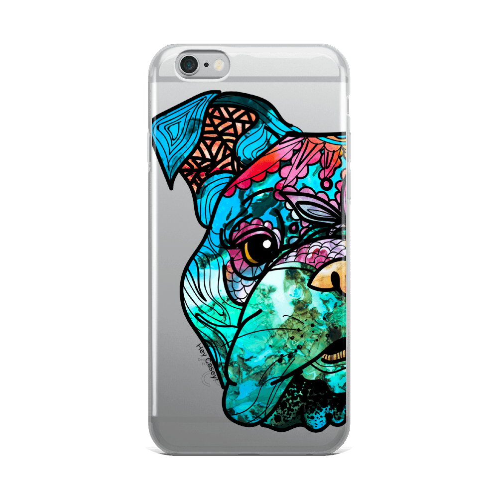 Hey Casey! Bulldog Phone case covers for iPhone, Samsung, Huawei