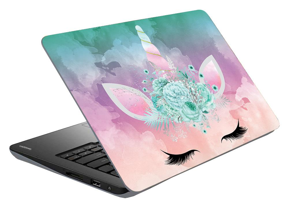 Candy Floss Unicorn Laptop Skin