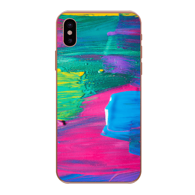 Hey Casey! Colour Canvas Phone case covers for iPhone, Samsung, Huawei