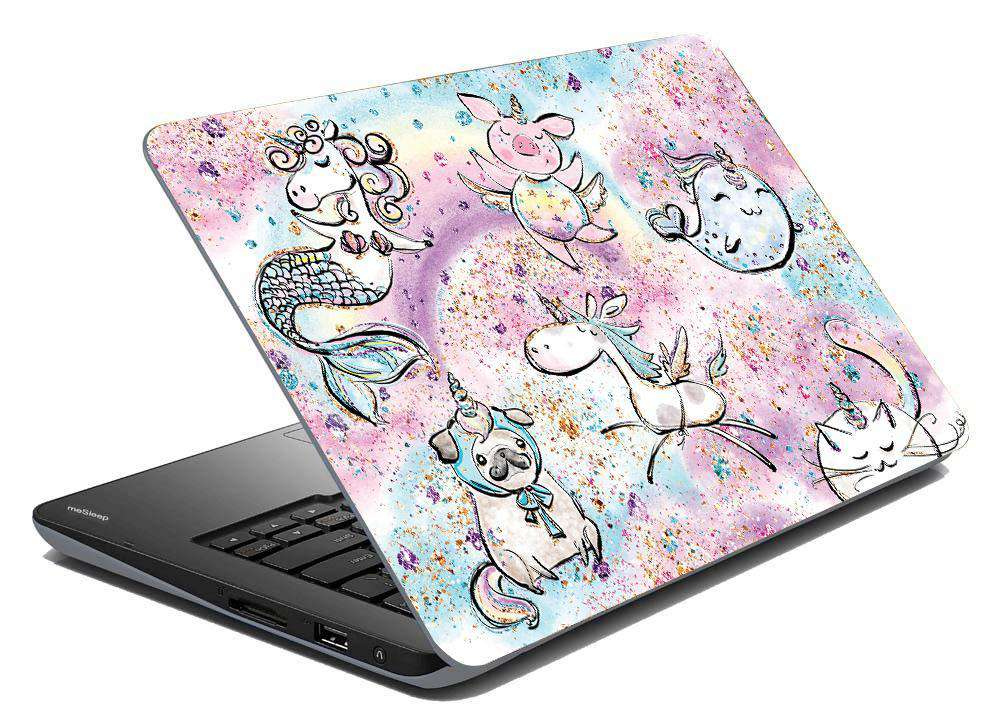 CutiCorns Laptop Skin