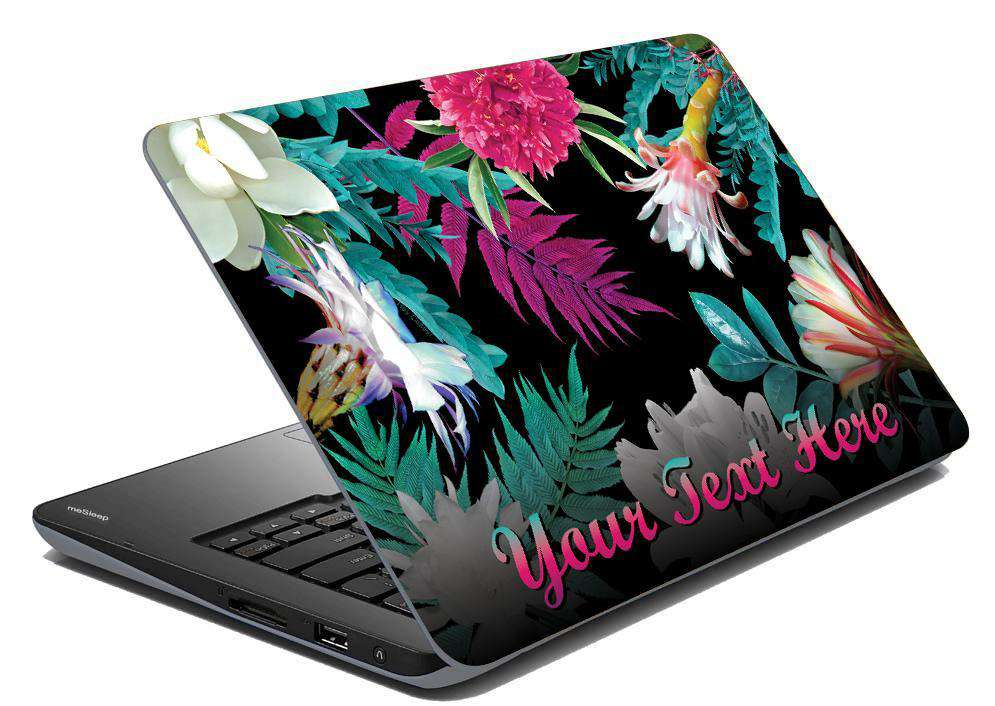Dark Tropic Laptop Skin