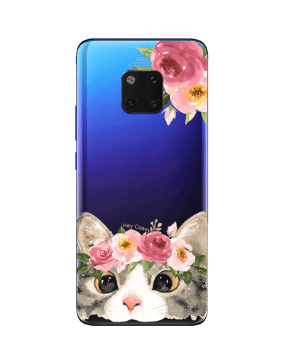 Floral Kitty Phone Case