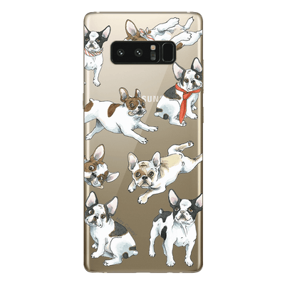 Hey Casey! Frenchies Phone case covers for iPhone, Samsung, Huawei