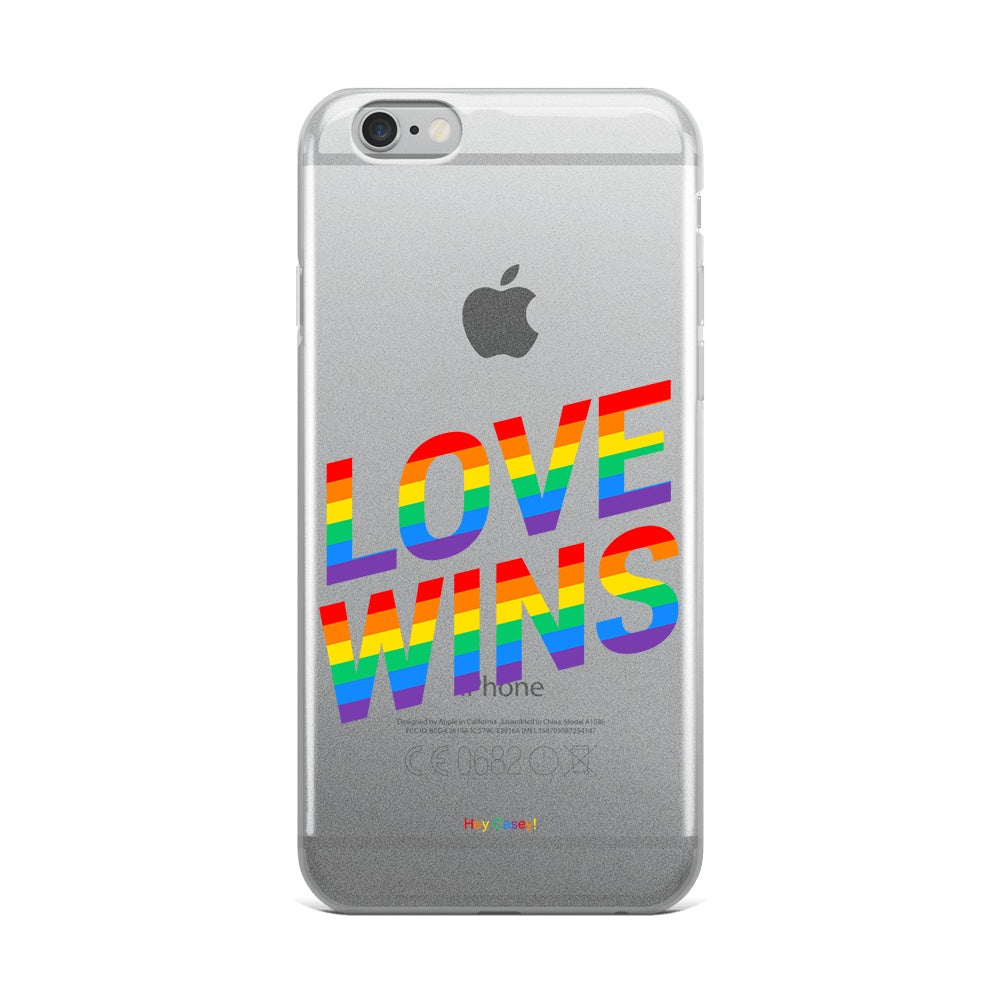 Hey Casey!Love Wins Phone Case Covers for iPhone,Samsung,Huawei