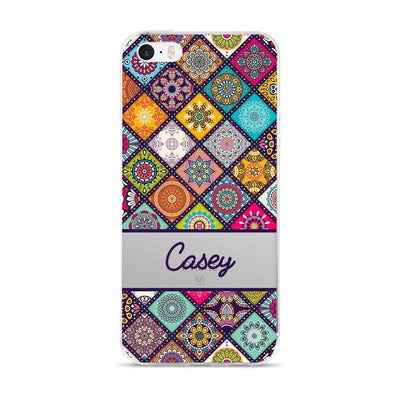 Hey Casey! Mandala Patchwork Phone case covers for iPhone, Samsung, LG, Huawei