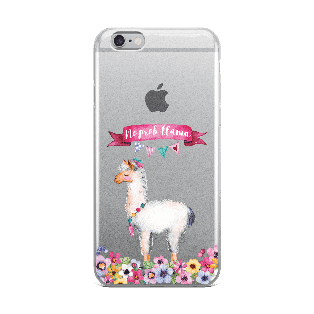 newest 146d0 fd867 No Prob-Llama Phone Case - iPhone XR