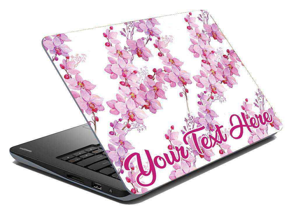Orchids Laptop Skin