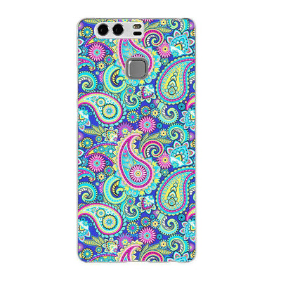 Hey Casey! Blue Paisley Phone case covers for iPhone, Samsung, LG, Huawei