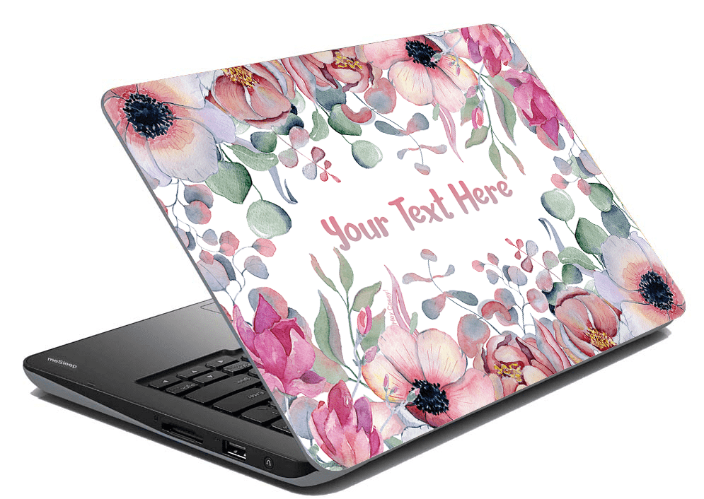 Poppy Laptop Skin