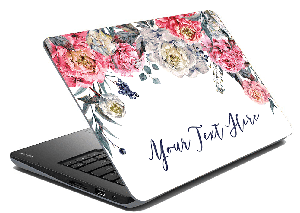 Pretty Peonies Laptop Skin