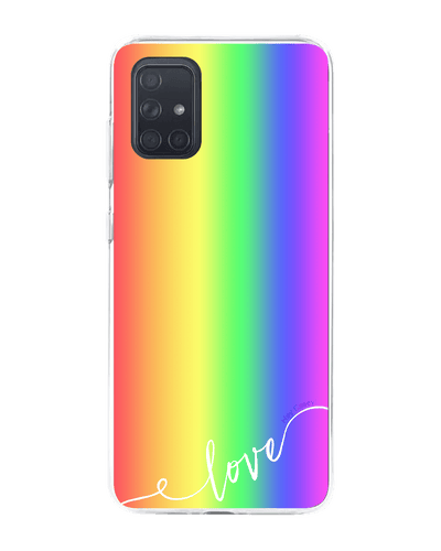 Hey Casey!Rainbow Love Phone Case Covers for iPhone,Samsung,Huawei