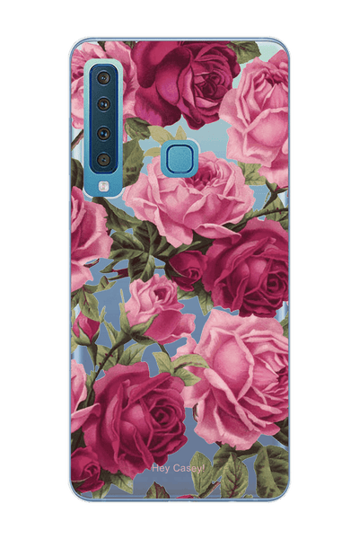 Hey Casey! Assorte Pink Roses Phone case covers for iPhone, Samsung, LG, Huawei