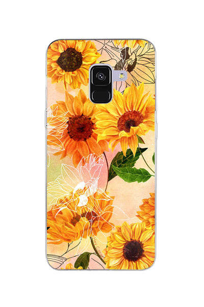 Hey Casey! Sunflower Blush Phone case covers for iPhone, Samsung, Huawei