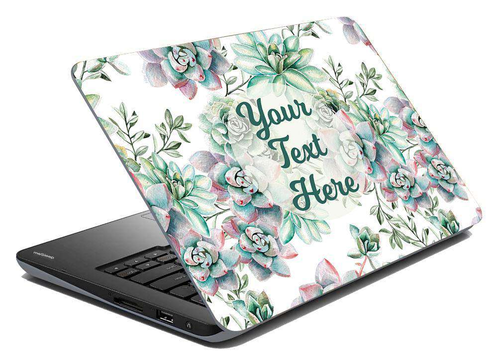 Sweet Succulents Laptop Skin