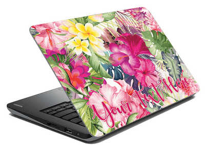 Hey Casey! Personalized Laptop Skin
