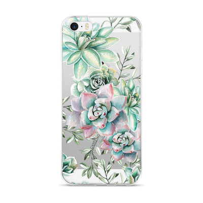 Hey Casey! Succulents Watercolour Phone case covers for iPhone, Samsung, LG, Huawei
