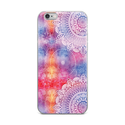 Hey Casey! Watercolour Mandala Phone case covers for iPhone, Samsung, LG, Huawei